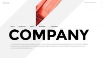 【熱切】簡約商務工作匯報PPT模板01