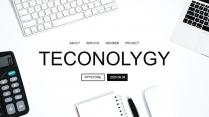 【智能时代】极简科技互联网商务工作通用PPT