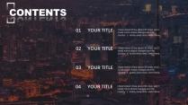 【灰藍簡潔】現代城市風格商務年終報告2示例3