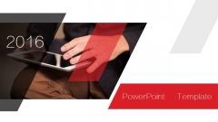 红色年终 08——欧美时尚大气汇报总结商务PPT