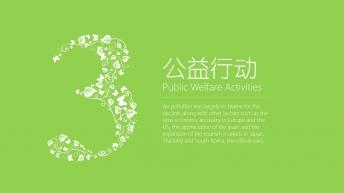 【小清新-扁平化】生态公益宣传&新能源环保技术推广示例5