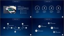 大气极简点线创意商务模板第十七弹示例4
