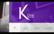 创意彩色网页风格PowerPoint