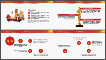 【极致商务】公司企业答谢会员工表彰年终总结PPT示例5