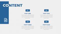 【轻设计】简约但实用的商务素色模板22示例3