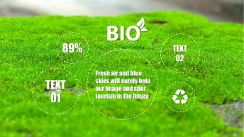 【小清新-扁平化】生态公益宣传&新能源环保技术推广示例7