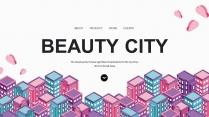 【彩咖】多彩城市科技互联物联大数据工作通用PPT