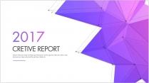创意总结报告工作计划商务报告模板