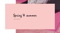 【RESUME】粉色大氣極簡藝人簡歷模板