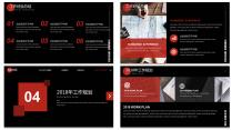 【欧美网页】扁平清新时尚网页版式年终总结汇报2示例7