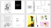 (设计感)小清新商务时尚汇报PPT模板6示例3