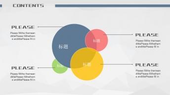 大气商务简约工作总结汇报(4种配色方案)示例7