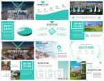 【青出于蓝】简约北欧风房产项目计划书示例5