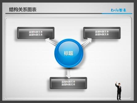 ppt素材 ppt图表 结构关系016
