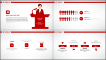 大气简约红白企业公司品牌推介PPT模板示例6