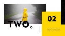 【极简主义8】上帝不小心打翻黄色的颜料盘&欧美杂志示例5