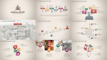 复古微立体新年计划年终总结商务PPT模板第57部