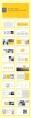 【精致商务】黄色简约风模板示例3