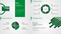 【2套配色】商务简约工作总结年终汇报项目报告纯色示例4