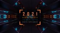 【橙蓝炫光】创意未来科技产品商业计划书