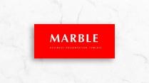 【简约商务】红色大理石创意排版多用途商务模板
