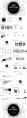 【点线艺术】大气简约工作汇报模板-8黑色示例3