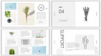 (设计感)小清新商务时尚汇报PPT模板6示例7