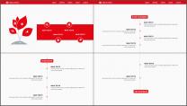 红黑网页风经典工作总结PPT模板示例5