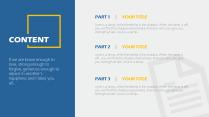 【轻设计】简约但实用的商务素色模板13示例3