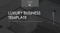 【luxury】極簡雜志風大氣模板
