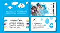多彩快乐de童年  儿童画册/相册/教育宣传册示例6