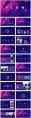 【抽象藝術】簡約商務通用模板(含四套)示例4