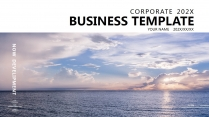 【紫气东来】极简高端大气商务工作总结年终汇报项目