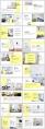 【时尚•简约】杂志式排版PPT模板合集(含4套)示例4