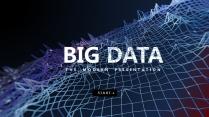 【科技网络】数据抽象四维 可视化创意智慧通用模版