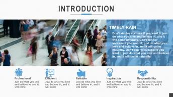 动态新颖版式超强汇报类商务Keynote模板2示例4