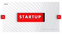 【欧美简约】创意红色多排版现代商务汇报工作总结模板