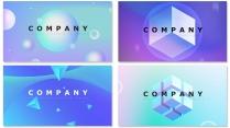 创意几何现代商务汇报工作计划企业策划模板【含四套】
