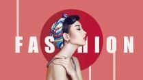 【美妆系】化妆欧美杂志风产品发布模板示例3