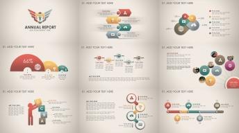 复古微立体新年计划年终总结商务ppt模板第34部图片