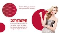 【美妆系】化妆欧美杂志风产品发布模板示例4