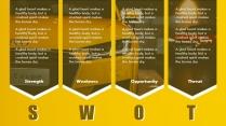 黄色创意欧美简约商务PPT模板示例7