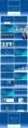 【耀你好看】经典蓝欧美风极简商务提案时尚PPT示例8
