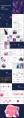 文艺商务ppt模板:自然系 轻奢风 渐变紫  示例7