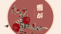 【蝶恋花】花褪残红,青杏小03