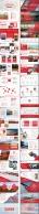 【LOVE RED】红色商务报告模板【八套合集】示例4