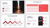 2018红色极简网页风PPT模板示例7