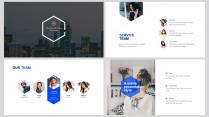 【图文混排】蓝色商务汇报模板02示例2