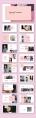 【RESUME】粉色大气极简艺人简历模板示例3