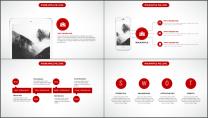 大气美观红色企业公司工作总结PPT模板三示例5